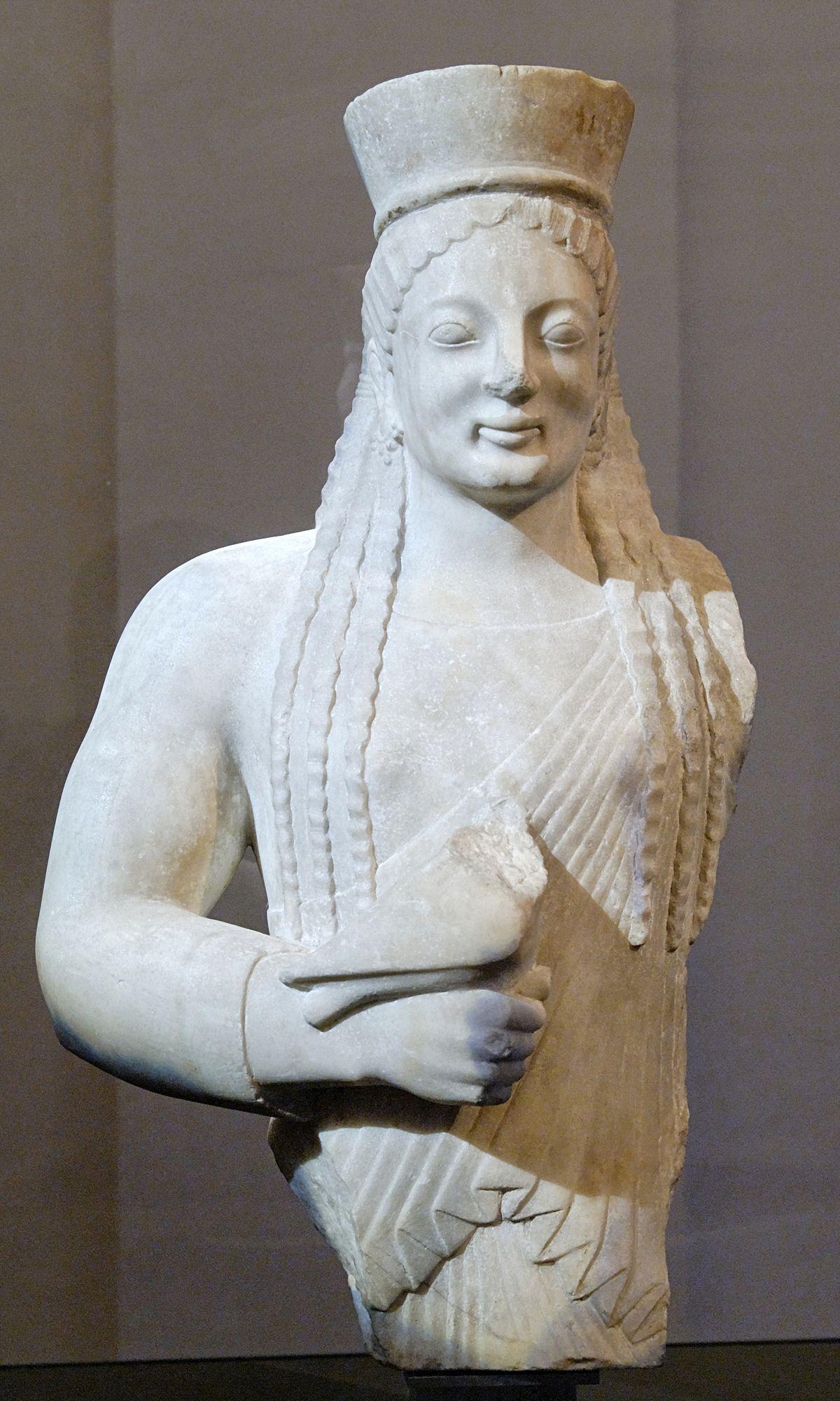 Korai Of The Acropolis Of Athens Wikipedia