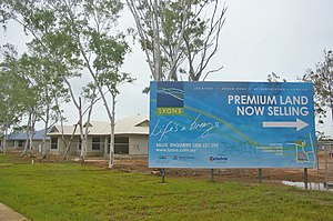 Lyons, Northern Territory - Image: Lyons NT