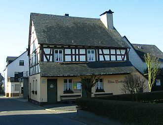 Mörsdorf - The old bakehouse serves today as a local history museum