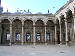 Riwaq (arcade) - Riwaq at the Mosque of Muhammad Ali in Cairo