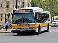 MBTA route CT2 bus on Park Drive, May 2015.JPG