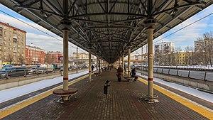 Avtozavodskaya (Moscow Central Circle) - Image: MCC 01 2017 img 16 Avtozavodskaya station