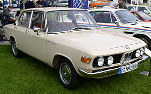Glas 1700 - After BMW pulled the plug on Glas production in Germany, the car reappeared in South Africa sporting a BMW front and powered by a BMW engine.