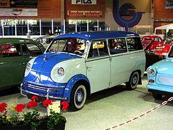 Vintage minivan: Lloyd LT 600
