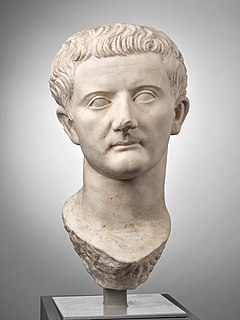 Tiberius 2nd Roman emperor, from AD 14 to 37