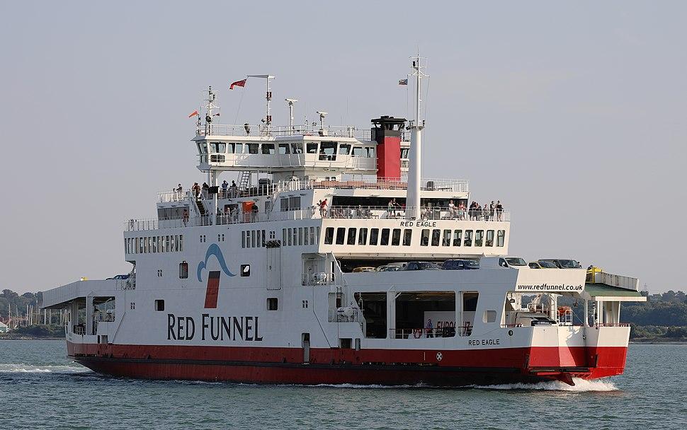MV Red Eagle in 2018