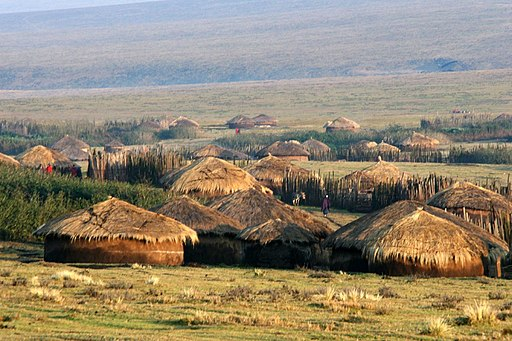 Maasai village, Lolmalasin