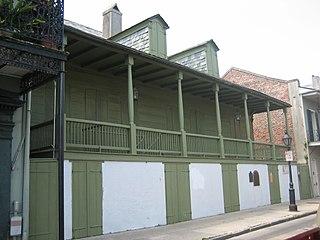 Madame Johns Legacy house