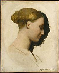Jean-Auguste-Dominique Ingres: Madame Edmond Cavé (Marie-Élisabeth Blavot, born 1810)