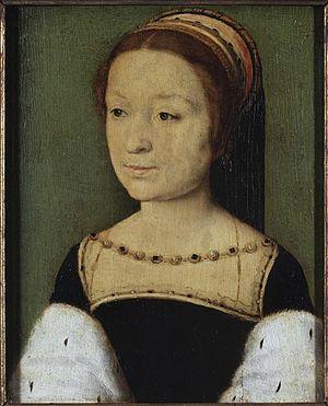 Madeleine of Valois - Madeleine de Valois by Corneille de la Haye
