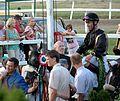 Magyar Derby 2013 Jaroslav Línek a győztes.JPG