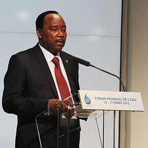 Government of Niger - Mahamadou Issoufou, current President of Niger
