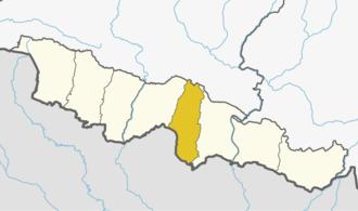 Mahottari District - Location of Mahottari