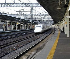 Maibara Station - Shinkansen platforms