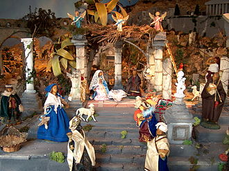 "Nativity scene - Neapolitan ""presepe"" of Maiori"