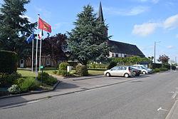 Mairie Eglise Le Caule 76.JPG