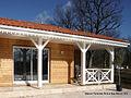 Maison bois près de Mont de Marsan, Landes.jpg