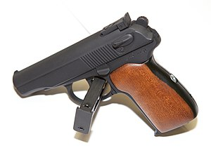 Makarov pistol - Parkerized and dura-painted Makarov PM. Russian production.