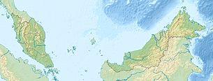クアラルンプール国際空港の位置 別地図