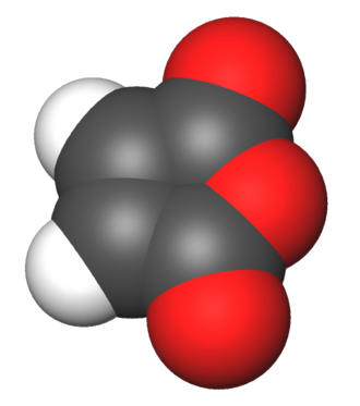 Maleic anhydride - Image: Maleic anhydride 3d