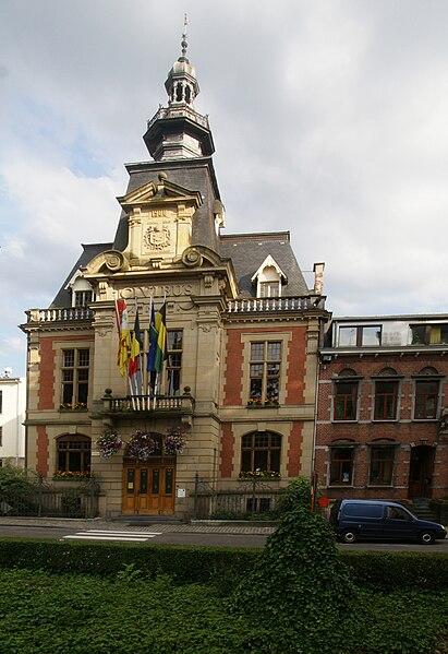 Malmedy (Belgium): Town Hall (1901)