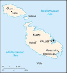 Geography Of Malta Wikipedia