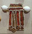 Man's currency string necklace, Chimbu, Middle Sepik District, Papua New Guinea, 1900-1945, cowrie shell, ovula-ovum, shell, plant fiber, dye - Spurlock Museum, UIUC - DDSC06006.jpg