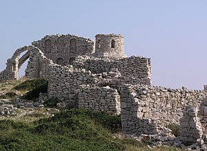 The Vikings (1958 film) - One of the filming locations on Kornati