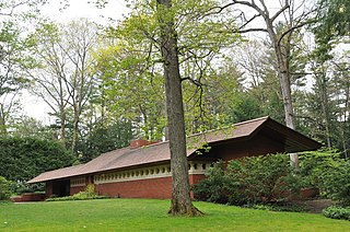 Zimmerman House (Manchester, New Hampshire) house designed by Frank Lloyd Wright in Manchester, NH