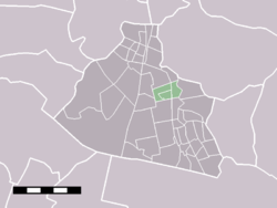 Zaandijk in the municipality of Zaanstad.