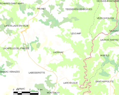 Map commune FR insee code 15089.png