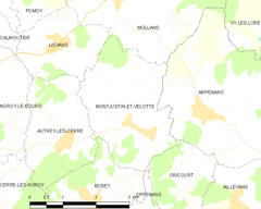Map commune FR insee code 70364.png