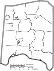 File Map Of Adams County Ohio Highlighting Cherry Fork Village Png
