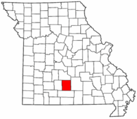 Map of Missouri highlighting Wright County.png