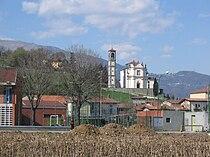 Mapello, Bergamo, Italy - Parish church of St. Michael the archangel.jpg