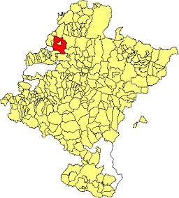 Maps of municipalities of Navarra Larraun.JPG
