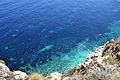 Mar vista des dels miradors del Poble Nou de Benitatxell.JPG