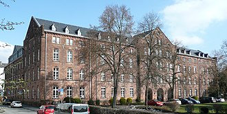 University of Marburg - Image: Marburg Psychologisches Institut von SW
