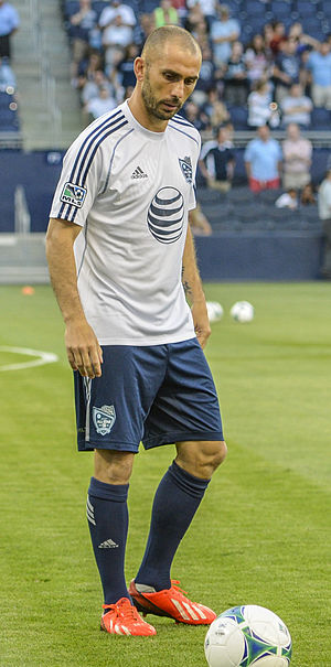 Marco Di Vaio - Di Vaio at the 2013 MLS All-Star Game.