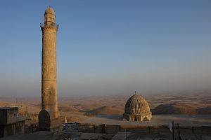 Religion in Kurdistan - The great mosque in Mardin