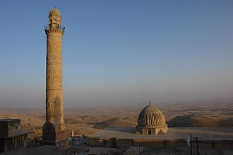 Religion in Kurdistan - The great mosque in Mardin