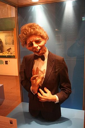 Cultural depictions of Margaret Thatcher - The Spitting Image puppet of Margaret Thatcher on display in Grantham