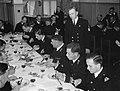 Marine-opleidingskamp Voorschoten. Afscheid Commissaris , Bestanddeelnr 902-8637.jpg