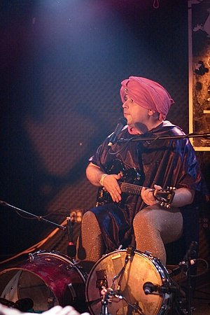 Mark Sultan - Sultan, billed as BBQ performing in 2009