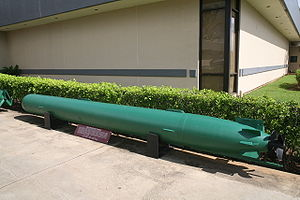 Mark 45 torpedo - Mark 45 torpedo on display in Aiea, Hawaii, United States