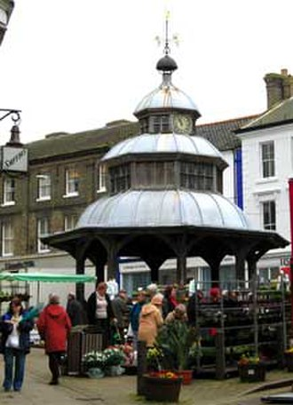 North Walsham - Image: Market cross