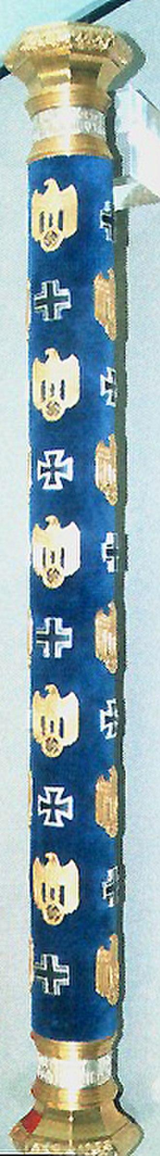 Generalfeldmarschall - Marshal's baton of Wolfram von Richthofen