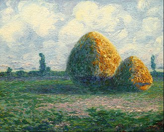 Culture of Argentina - The haystacks (1911) by Martín Malharro. He is considered the introducer of Impressionism in Argentina.