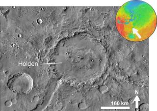 Holden (Martian crater) Martian crater