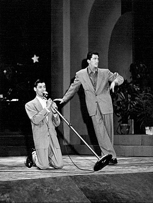 500 Club - Martin and Lewis in 1948